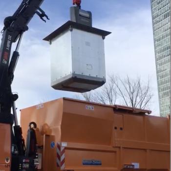 Semi-automatic crane control
